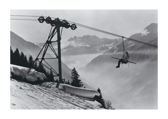 Alte Ski Poster Schruns sessellift
